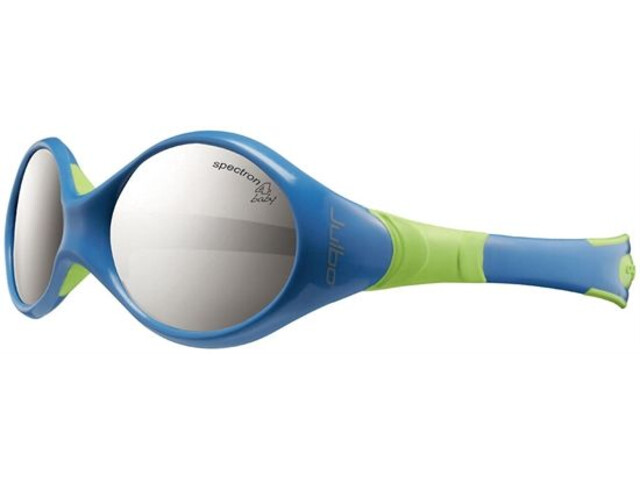 Julbo Looping II Spectron 4 Sunglasses Baby 12-24M blue/lime green